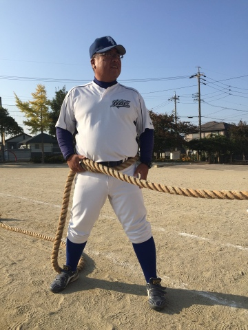 綱引き 横綱コーチ