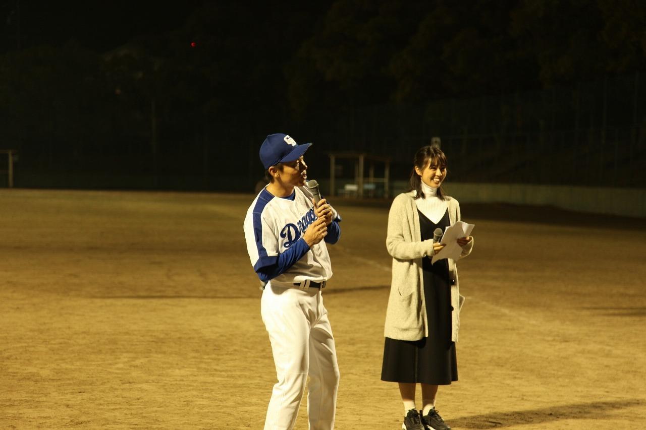 OB ドラゴンズ大島選手交流会 CBC 柳沢さんと 2018/11/4