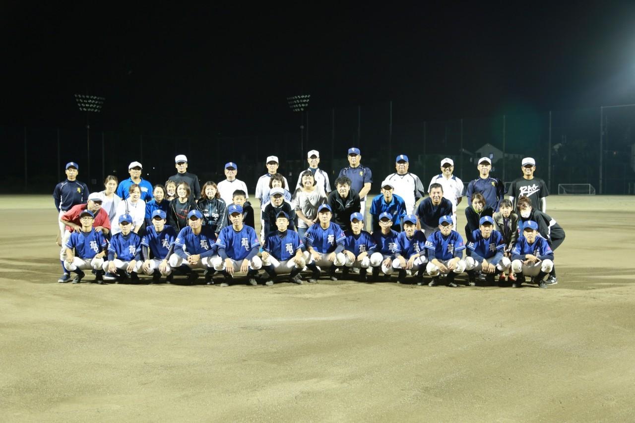 卒団記念親子試合 2020/10/03